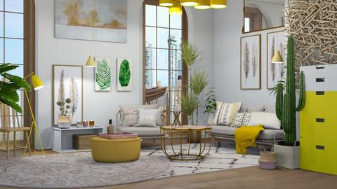Minimaxilist  - Modern - Living room - by NEVERQUITDESIGNIT