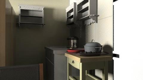 delle kitchen - Minimal - Kitchen - by fidelle