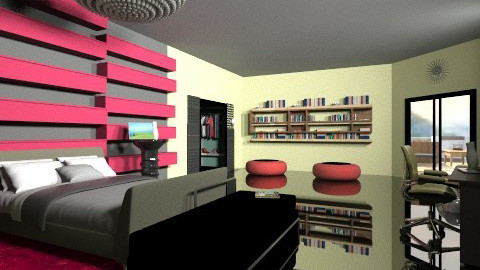 Minimal bedroom - Minimal - Bedroom - by Designerloft