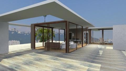 bamboo roof - Modern - Garden - by domuseinterior