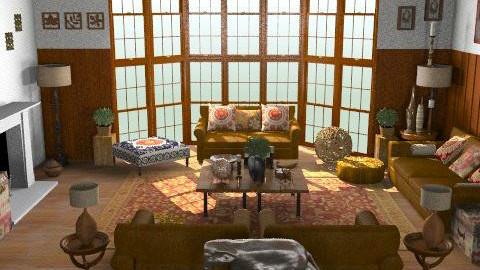 La Vie En Bois .2 - Rustic - Living room - by camilla_saurus