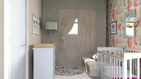 2nd Bedroom/Nursery for Matliy_View 1 - Classic - Bedroom - by giulygi