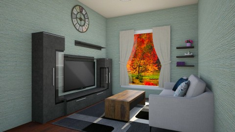 Inner Peace With Home - Country - Living room - by Fuzzy Squirrel