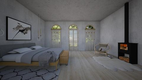 a place to sleep - Minimal - Bedroom - by kitty