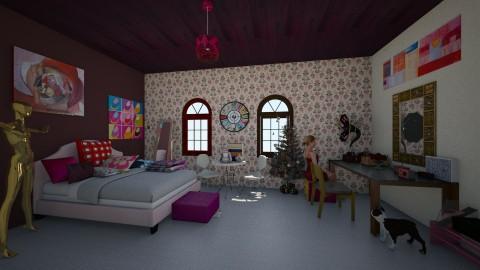 bedroom 1 - by Elham Akbari