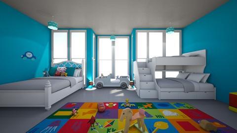Little gentleman - Kids room - by Laura Drouhard