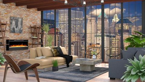 City View - Living room - by millerfam