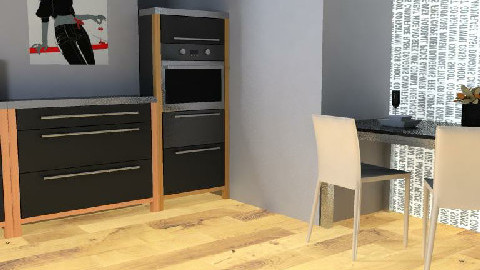 Minimalistic kitchen - Minimal - Kitchen - by allyno111