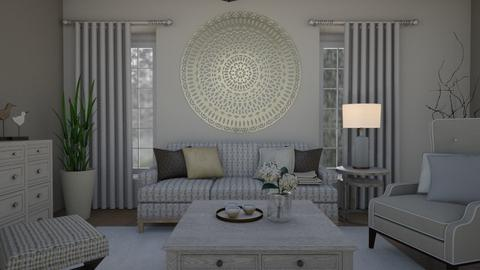 Soft colours - Living room - by Tuitsi