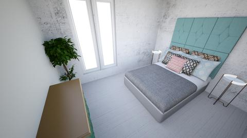 bedrrom blue - Bedroom - by highantelope