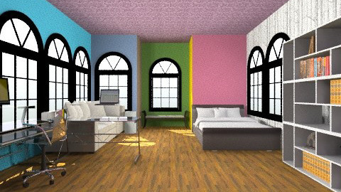 mdrn_clorfl_brm - Bedroom - by katie2007