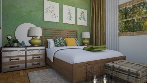Quarto Green - by Lin Diegues