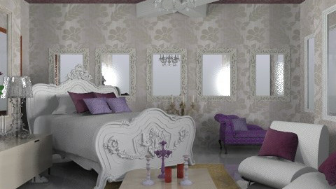 mineral - Glamour - Bedroom - by trees designs