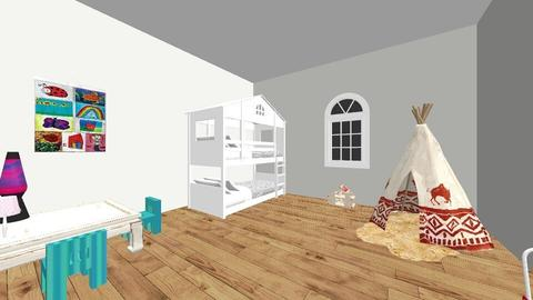 Kids room - Kids room - by Zandra Docken