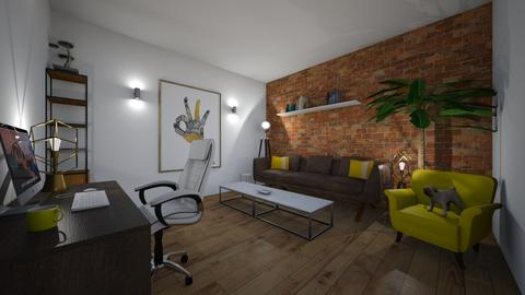 Office - Rustic - Office - by AntRyan10