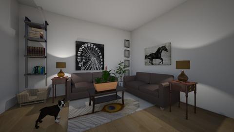 Modern Living Room - Living room - by ellarowe224