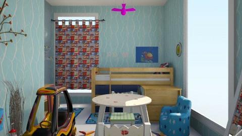 Irina - Kids room - by Irina Kamburova