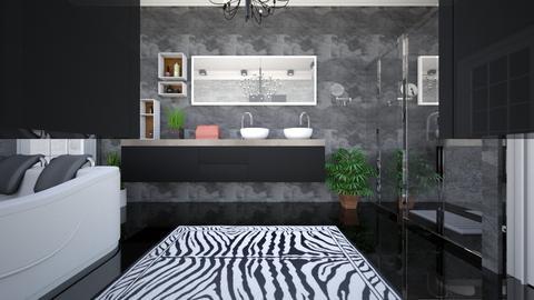bathroom onyx - Minimal - Bathroom - by Bianca Interior Design