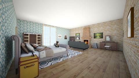 Modern Vintage - Vintage - Bedroom - by anjel0228
