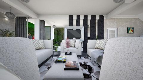 living room minimal - Minimal - by Vasile Bianca Rozalia