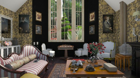 Victorian Gothic Inspired - Classic - Living room - by giulygi