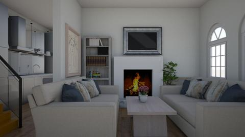 white - Living room - by cguy67