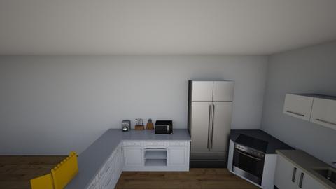 casa - Kitchen - by nathanaelganador04