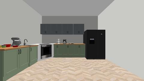 Haring oak - Kitchen - by bemitch406