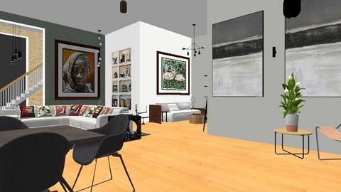 Olando City Loft - Modern - Living room - by yarno