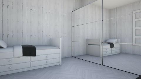 White wireb - Bedroom - by Karolina Banasiewicz
