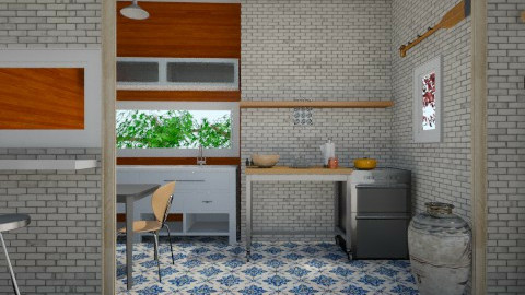 Lusa - Eclectic - Kitchen - by rstruz