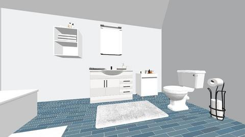 loft bathrom - Modern - Bathroom - by toxic chemical life