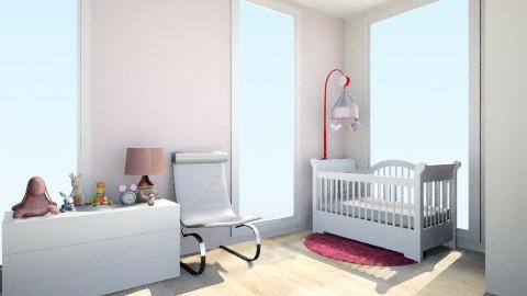 baby girl room - Kids room - by natiki97