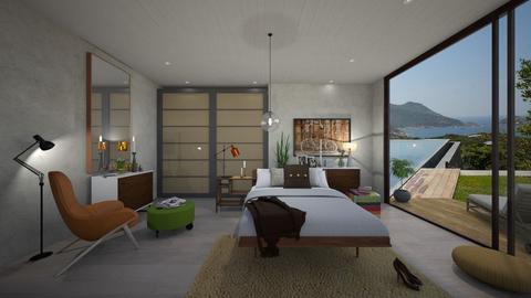 Mod Bedroom  - Modern - Bedroom - by Sanja S
