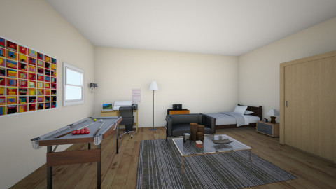 nicks design - Bedroom - by NICK_TIAM