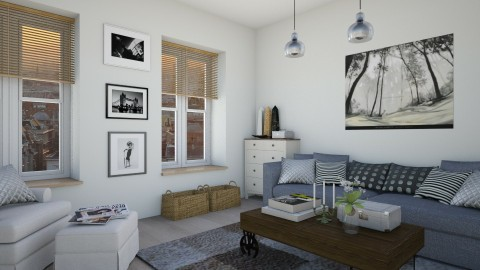 Scandinavian inspired - Modern - Living room - by martinabb
