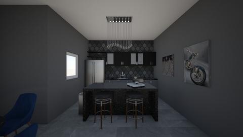 First Kitchen - Modern - Kitchen - by zoe128