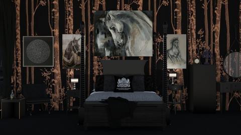 Copper 2 - Bedroom - by Jade Autumn