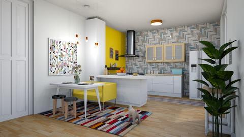 k modern - Kitchen - by rebeca_scmoraes