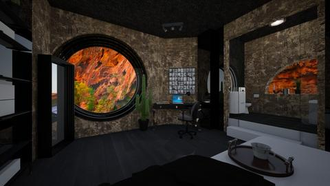 Desert room - Bedroom - by timeandplace