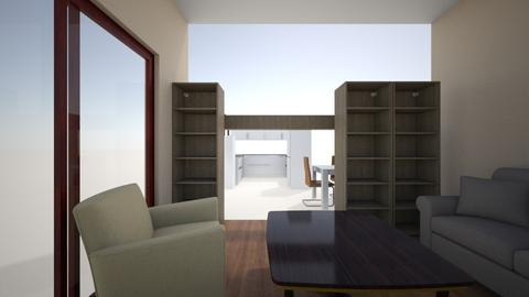 living room and kitchen - Classic - Living room - by Mishe
