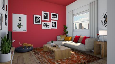 mi casa tu casa - Eclectic - Living room - by Elya Vovak