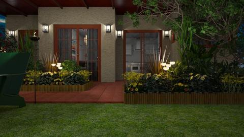 Patio Garden - Garden - by GraceKathryn