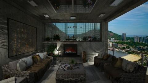 Rustic balcony - Rustic - Garden - by Brubs Schmitt