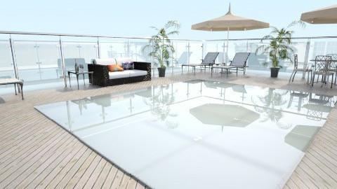 beach patio - Modern - by designer2001