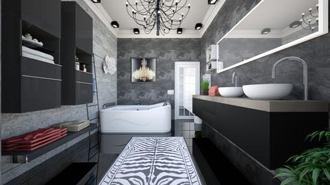 bathroom onyx front  - Minimal - Bathroom - by Vasile Bianca Rozalia