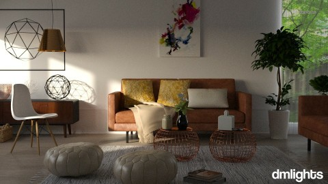Eclat - Eclectic - Living room - by BrandonThibby