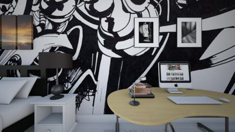 graffiti - Modern - Bedroom - by Nhezi