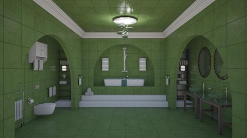 Lia Beldam - Retro - Bathroom - by Elenn