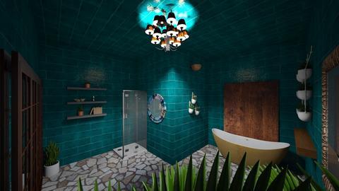 tropic bathroom - by Lady Twinkletoes